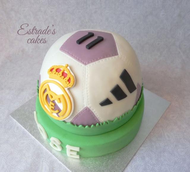 tarta balón del Real Madrid 2