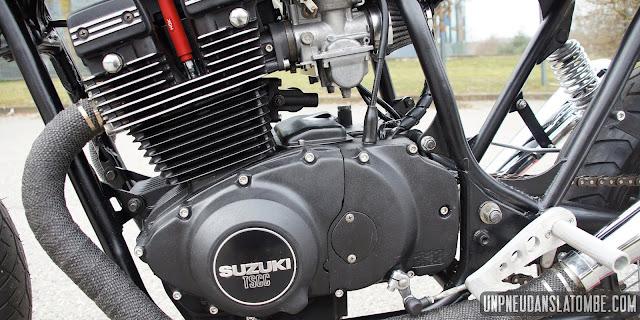 Gary's Suzuki GSX400 Cafe Racer | Suzuki Cafe Racer | Suzuki GSX400 | Suzuki cafe racer kit | Suzuki cafe racer conversion | Suzuki cafe racer parts