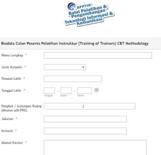 Pembukaan Pendaftaran Pelatihan Instruktur Berbasis TIK