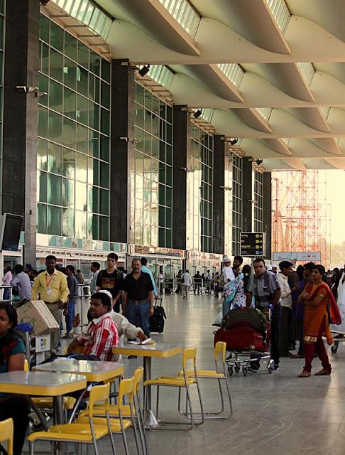 main building at Bangalore airport