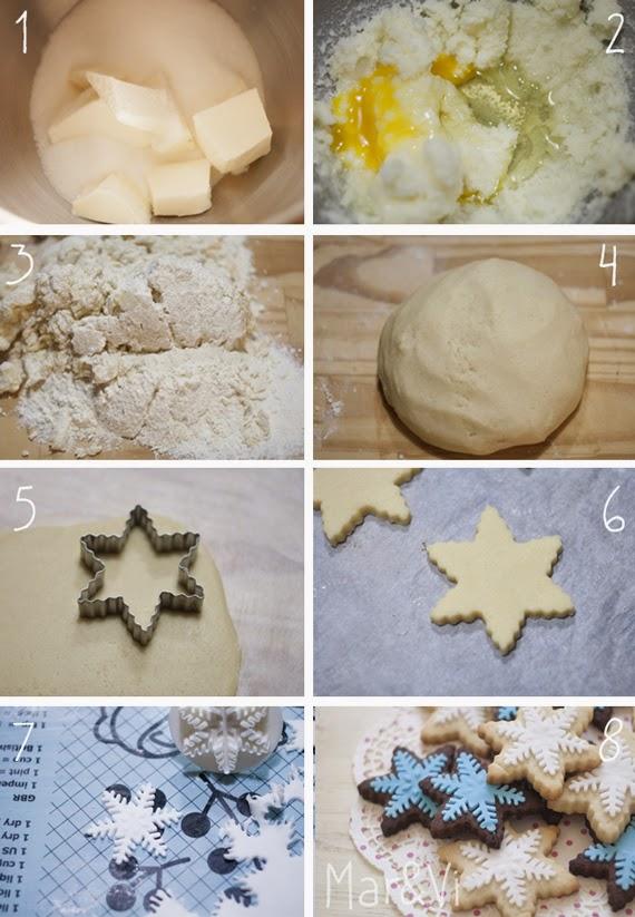 Receta paso a paso galletas mantequilla