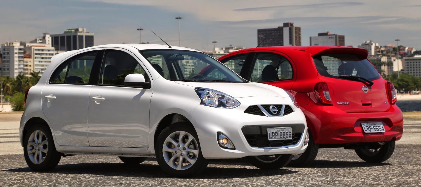 Nissan March é Medalha de Ouro  em economia de combustível