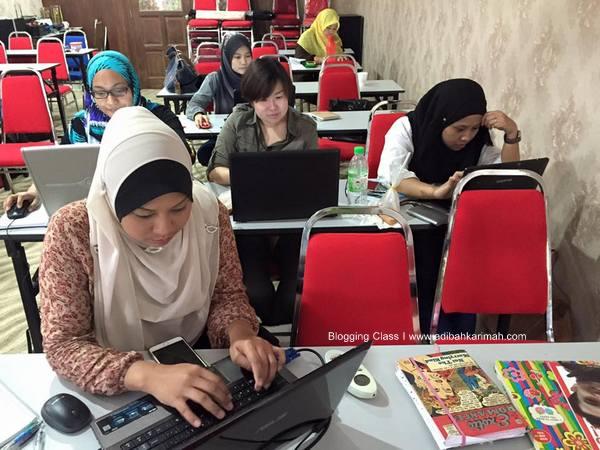 kelas blog bersama Awesomazing Team