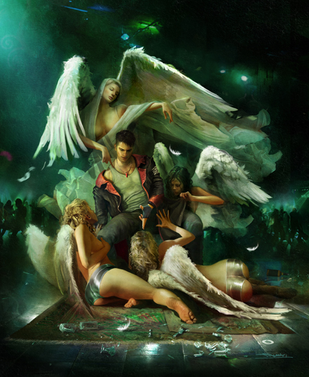 DmC Devil May Cry - Artworks