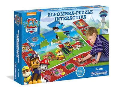 JUGUETES - PAW PATROL : La Patrulla Canina  Alfombra Puzzle Interactiva | Puzzle Interactivo  Producto Oficial Serie TV | Nickelodeon | Clementoni 550685  A partir de 3 años | Comprar en Amazon España