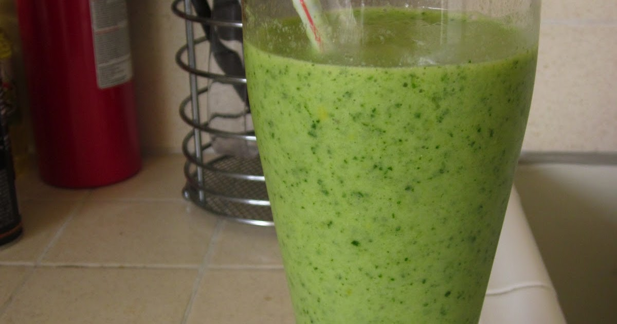 Much Ado About Kale Smoothie
