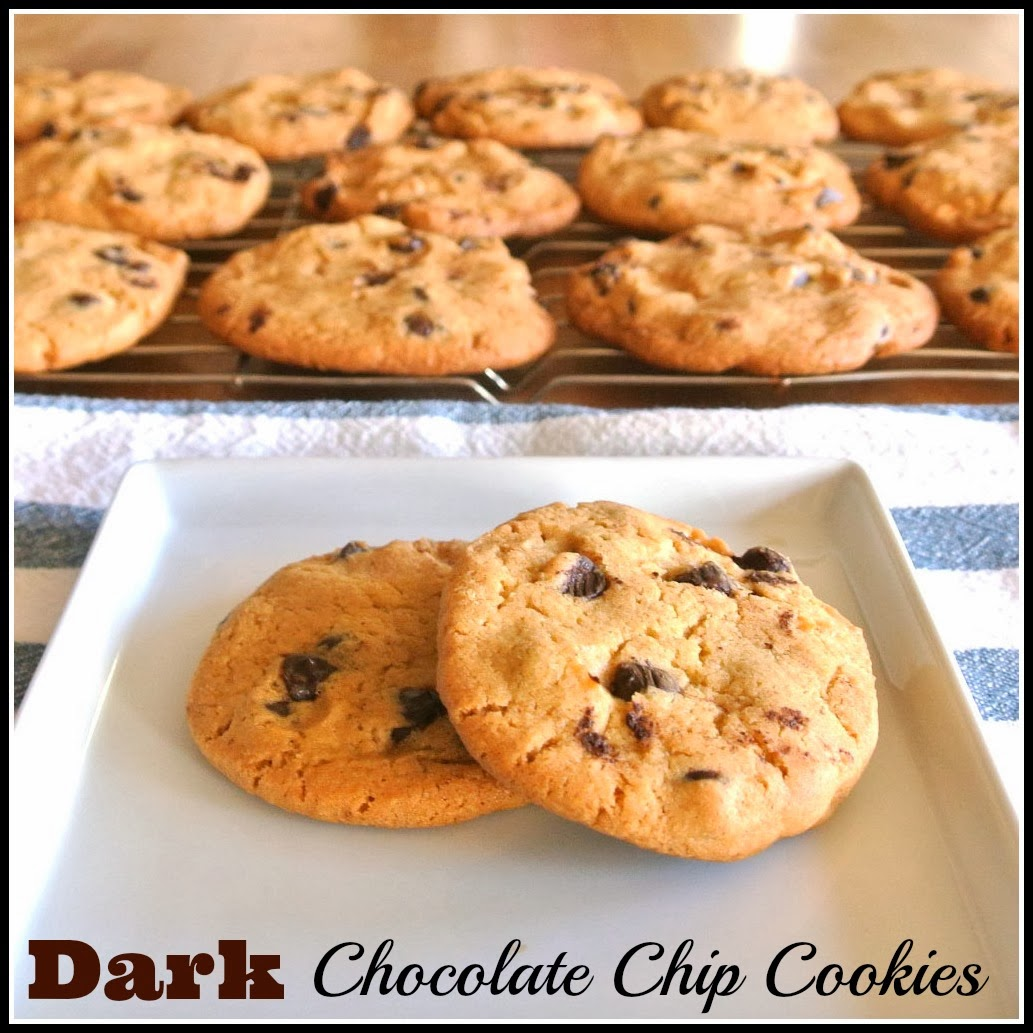 Gourmet Cooking For Two: Dark Chocolate Chip Cookies