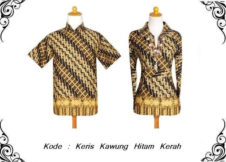Batik Sarimbit Kinanthi: Sarimbit Keris Kawung