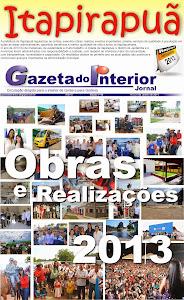 VEJA A EDIÇÃO Nº 49 DO JORNAL GAZETA DO INTERIOR