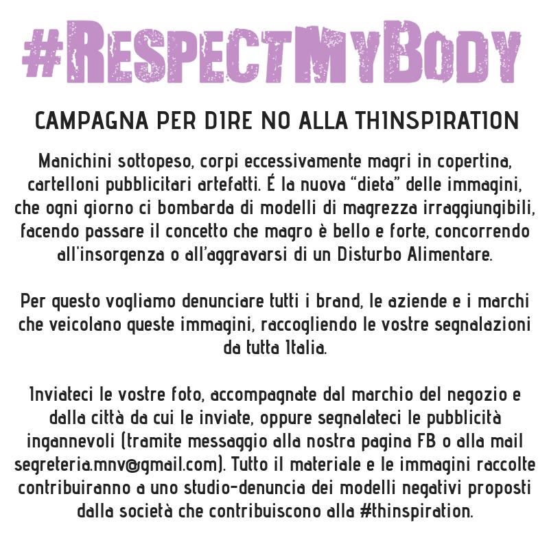 Campagna #RespectMyBody