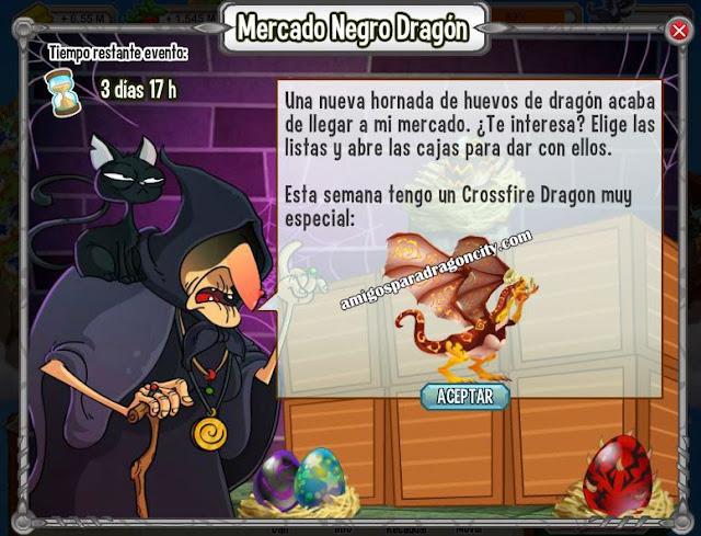 imagen del imagen del crossfire  dragon en el mercado negro del dragon