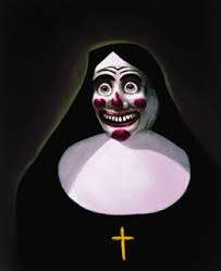 Bosco dressed as a nun