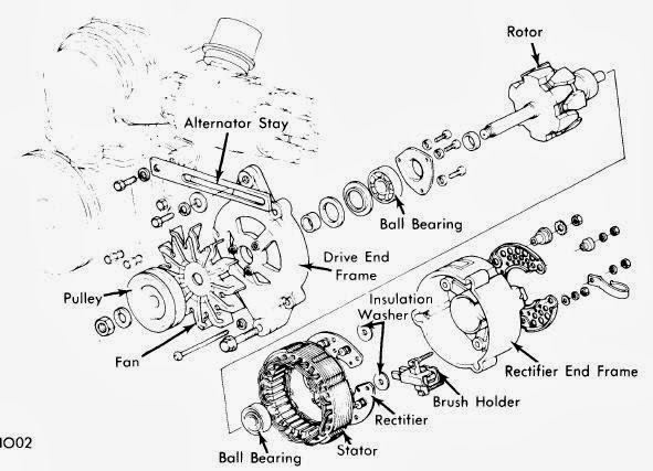 Acr Alternator Wiring Diagram : Lucas acr alternator wiring diagram somurich