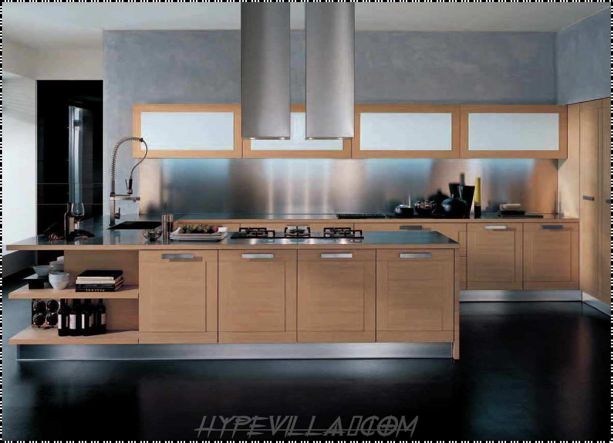Kitchen design modern best home decoration world class Modern houses interior kitchen