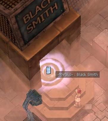 LANGITBIRU Blackmith Job Quest