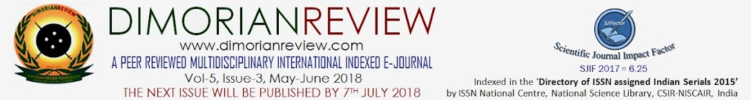 DIMORIAN REVIEW - UGC Approved eJournal