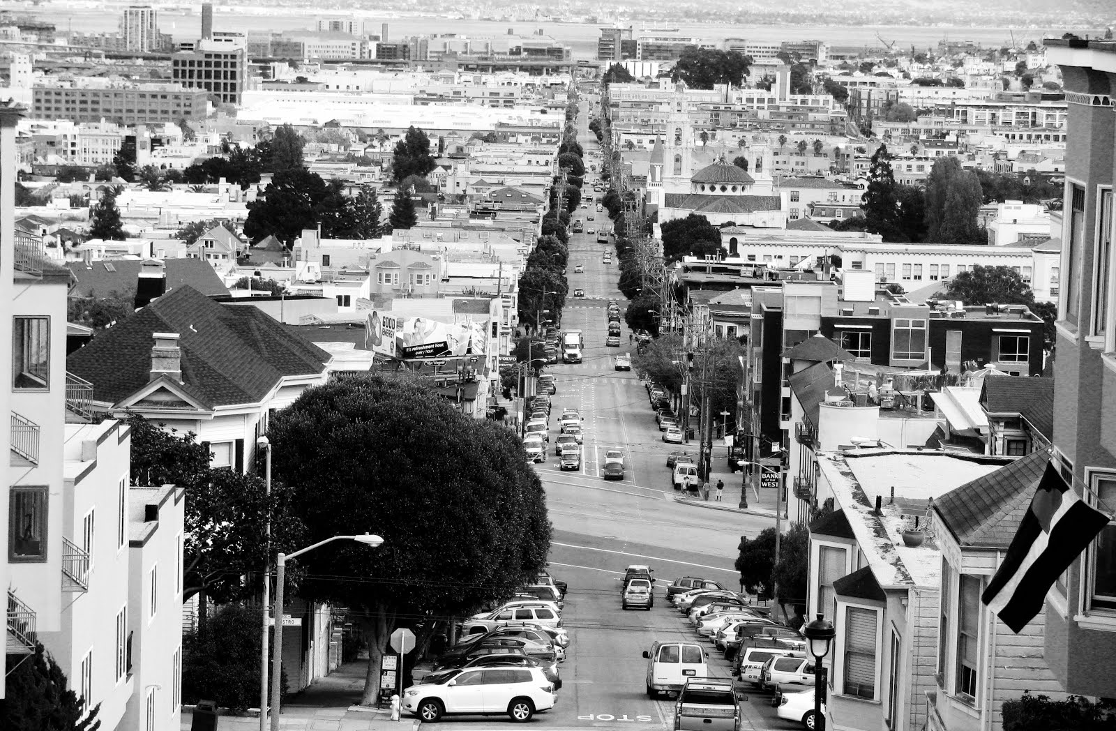 drive by shooting - looking down the mission