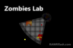 Zombies lab FLASH GAME de susto, scary