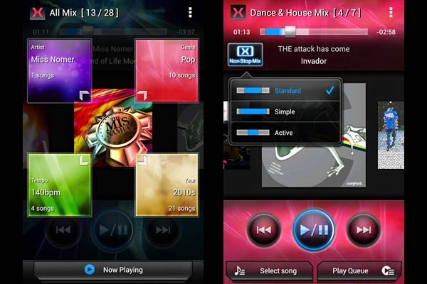 App Musical MIXTRAX de Pioneer