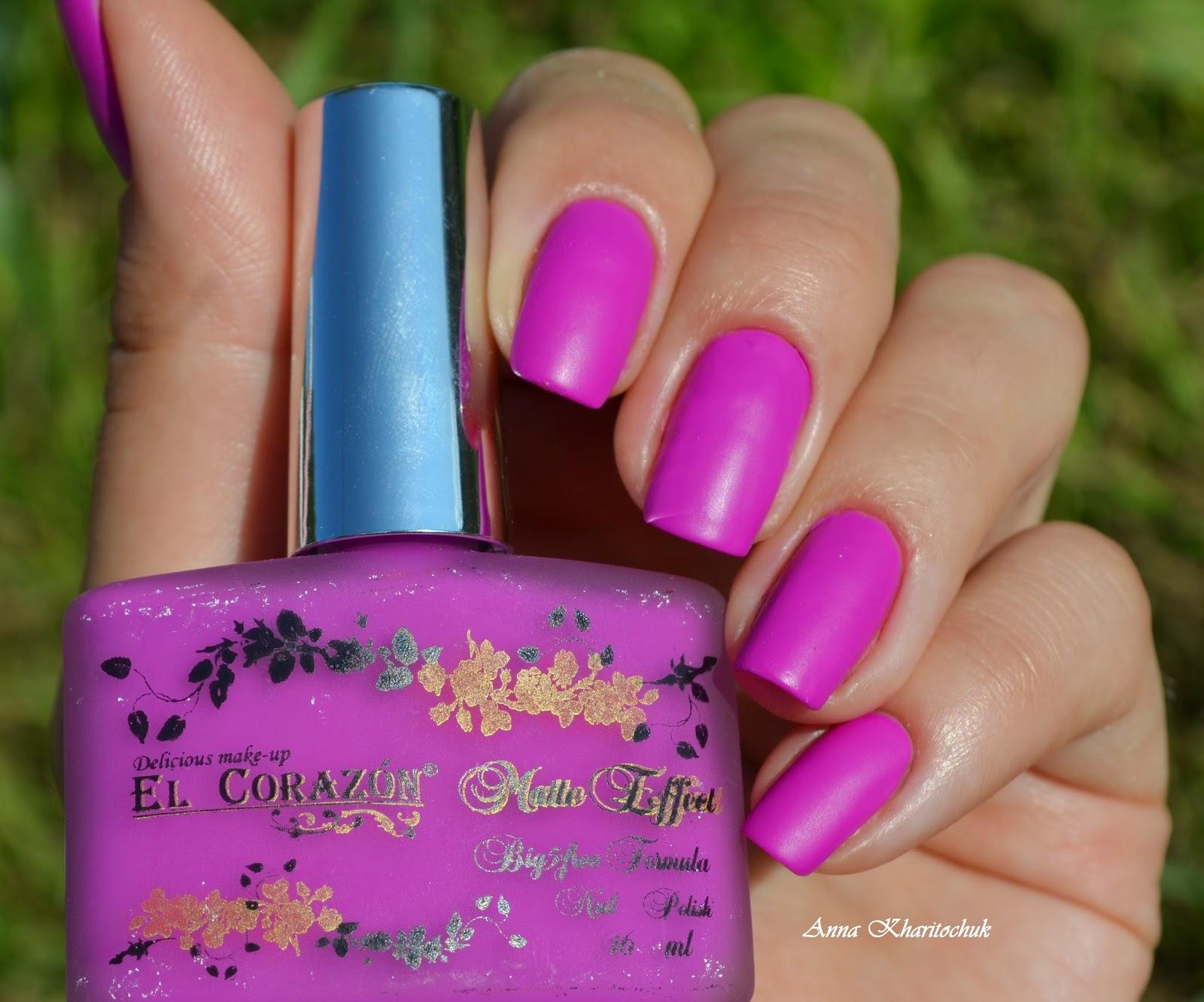 El Corazon Matte Effect 147-neon