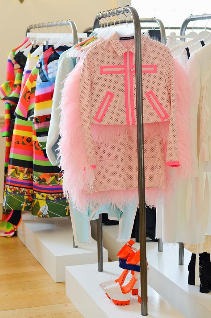 London Fashion Week Designers Shworooms