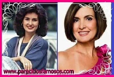 Fátima Bernardes presentadora  Brasileña antes y después