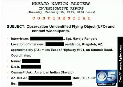 Navajo Task Force Investigates UFOs and the Paranormal 3-13-13