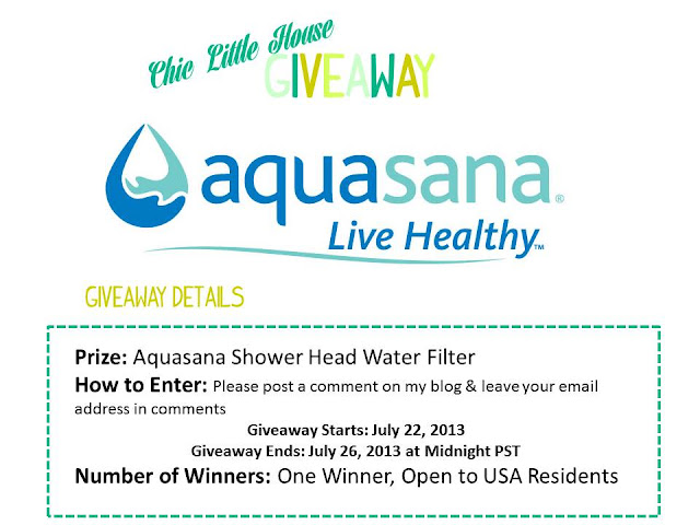 Giveaway: Aquasana Water Fliter