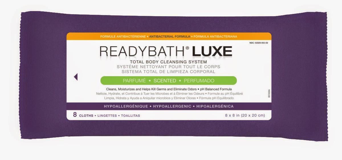 ReadyBath LUXE Washcloths
