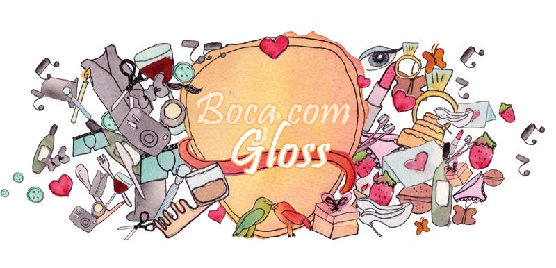 Boca com Gloss