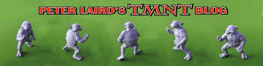Peter Laird&#39;s TMNT blog