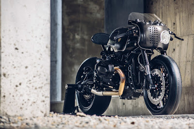 BMW R9T Street Fighter by Rough Crafts