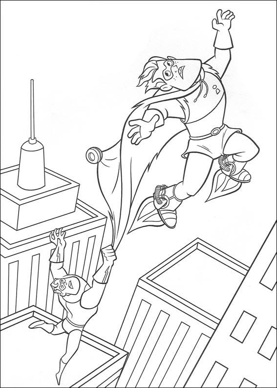 Krafty Kidz Center  Mr  Incredibles Coloring Pages
