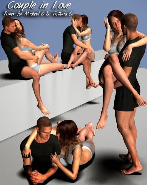 Couple In Love pose pour Michael 6 - Victoria 6
