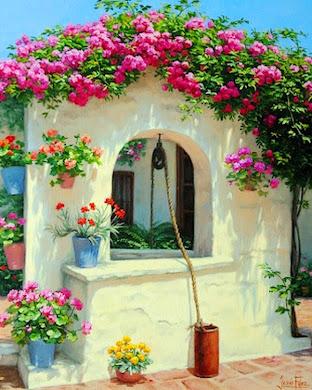 Paisajes con Flores