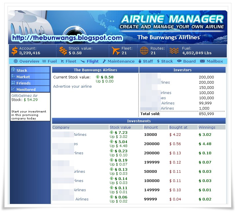 Create Your Own Airline