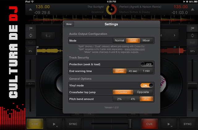 Cross Dj 1.2 iOS