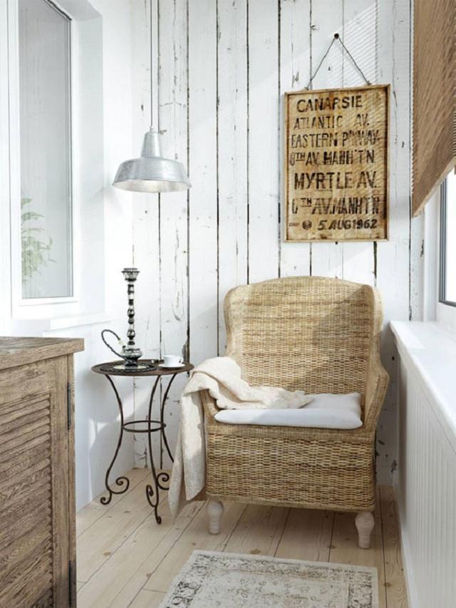 Decora o r stica e aconchegante reciclar e decorar blog - Cortinas estilo rustico ...