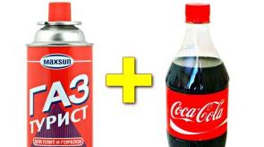 Δείτε τι θα συμβεί αν μέσα στην Coca Cola προσθέσουμε προπάνιο