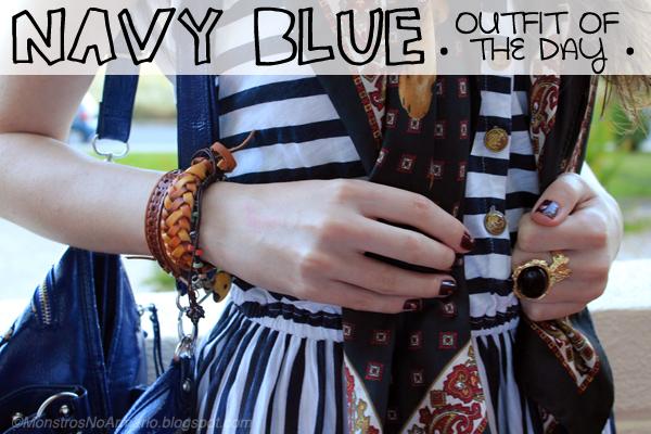 Navy Blue OOTD