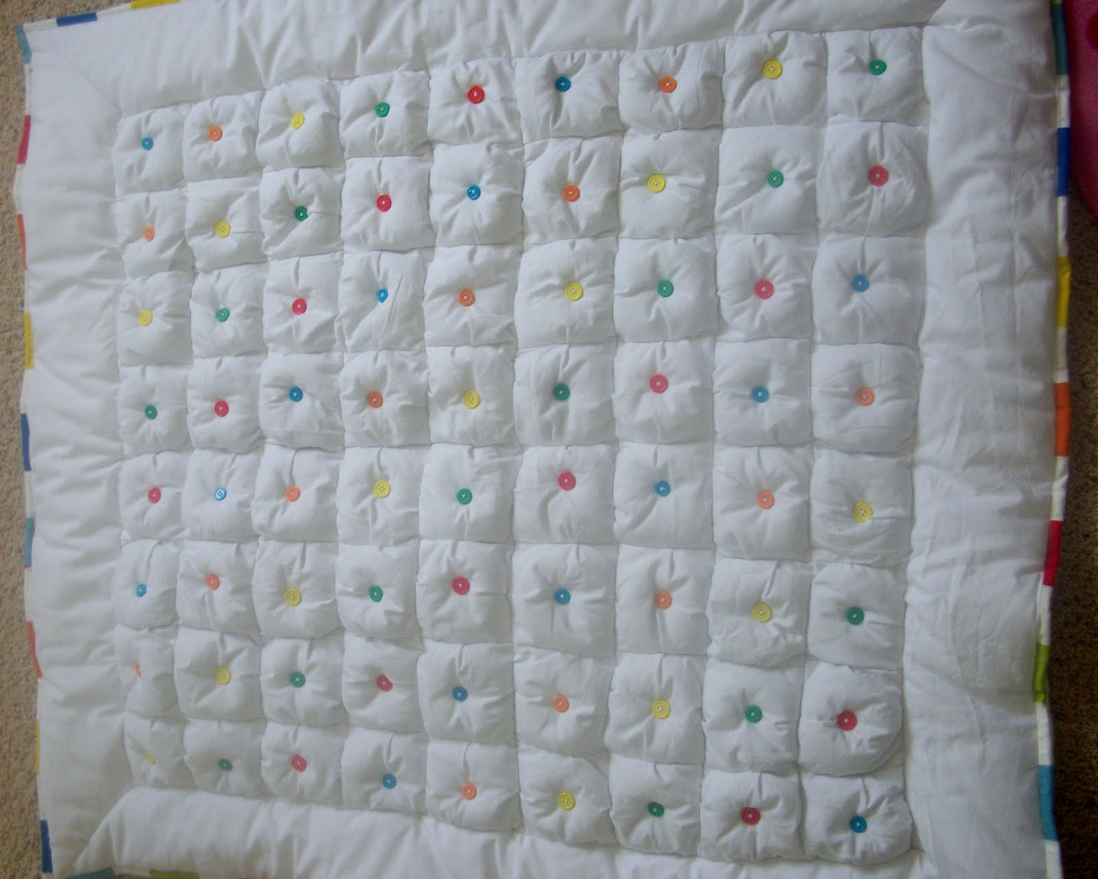 Proverbs 31 Life: Puff Baby Quilt