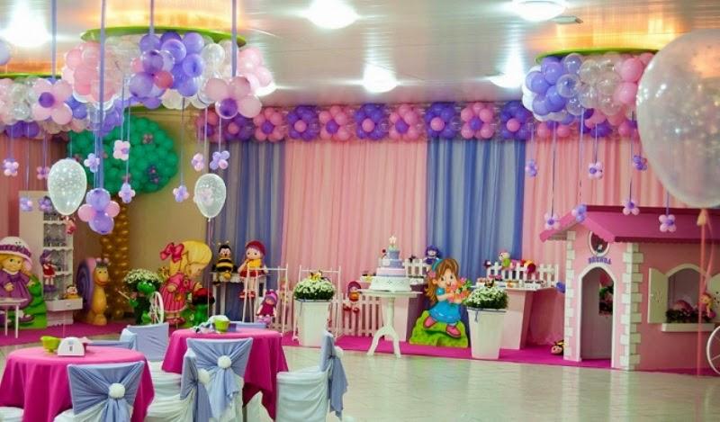 Model balon dekorasi ulang tahun untuk anak meriah