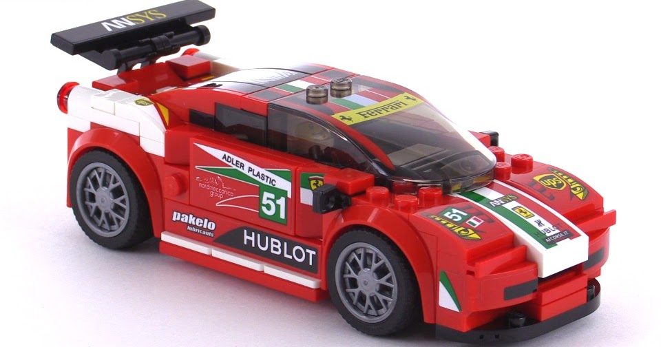lego speed champions ferrari 458 italia gt2 mild mod. Black Bedroom Furniture Sets. Home Design Ideas