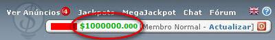 neobux 1 milhão abril dia das mentiras 2009 ptc dinheiro money ganha ganhar