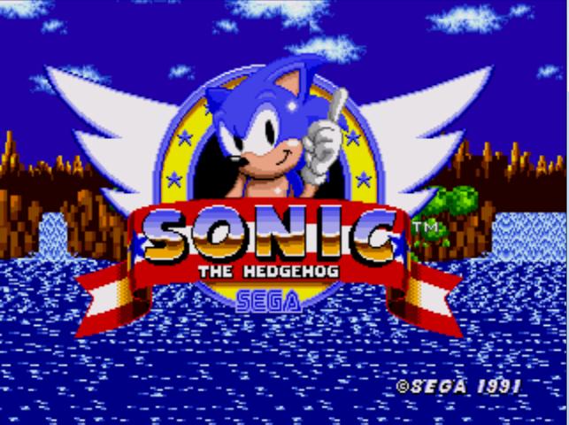 Video Game Screenshots Depot: Sonic the Hedgehog (Genesis ...