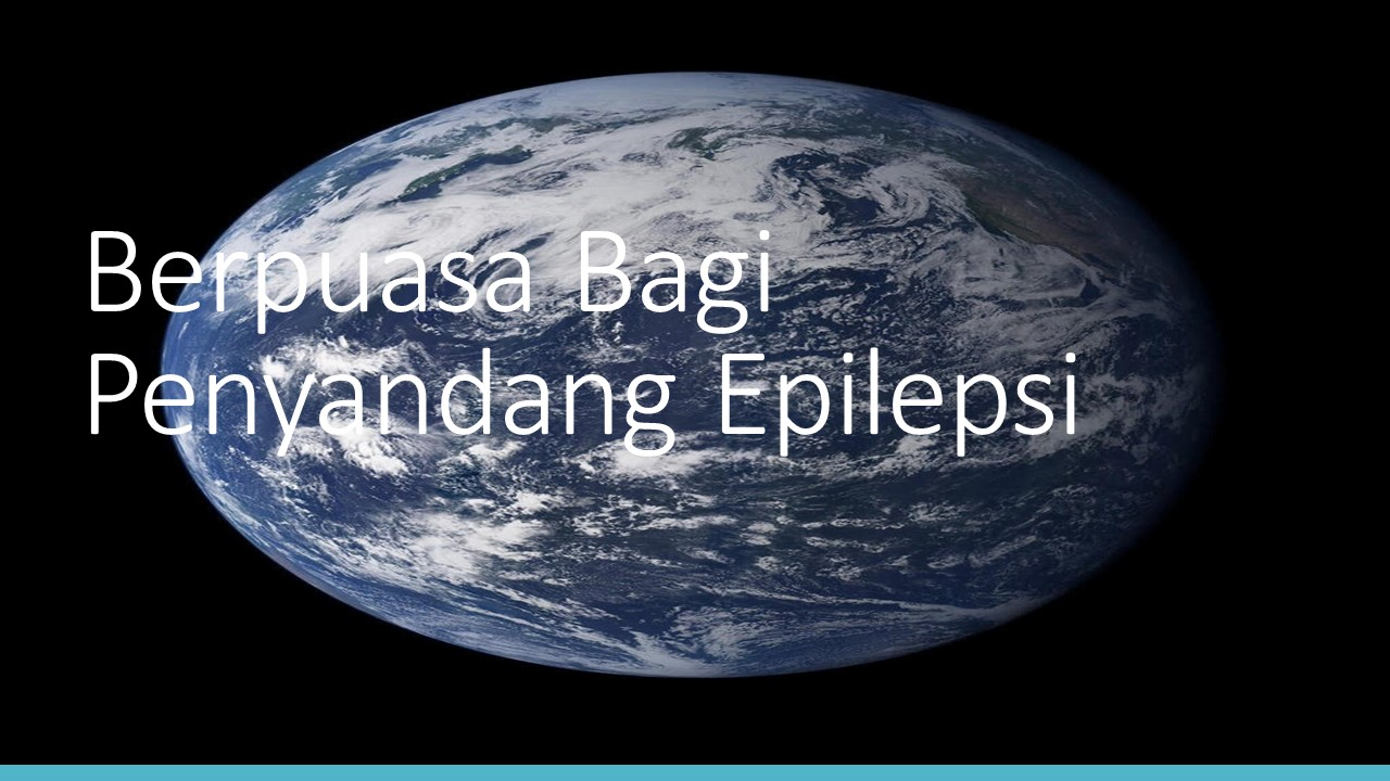 Berpuasa Bagi Penyandang Epilepsi