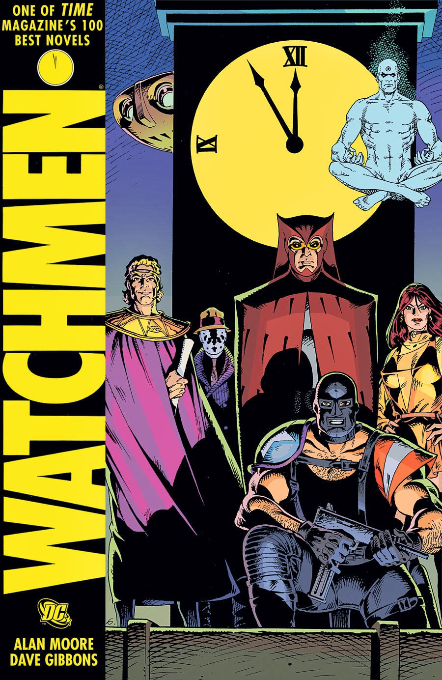 alan moores watchmen essay My arguments and/or musings over sexism in watchmen has nothing to do with the representation of a corrupt society where women are abused  alan moore is a man,.