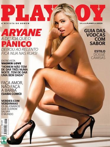 Playboy Da E Panicat Aryane Steinkopf A Mais Vendida De