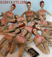 Handpainted Poison Dolls 2004