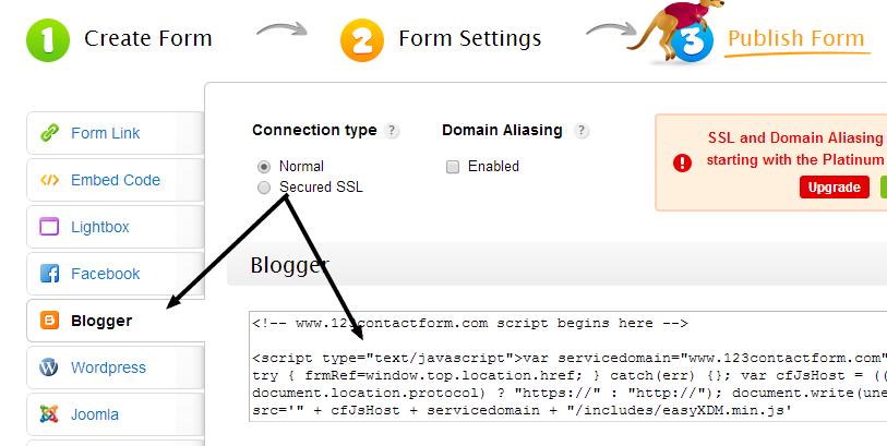 Cara membuat Formulir Registrasi Online